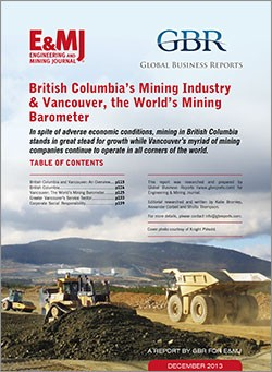 Global Business Reports - British Columbia and Vancouver Mining 2013
