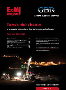 Turkey Mining 2014 cover 250px
